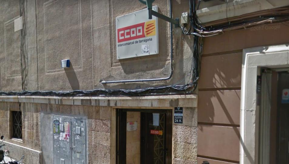Seu de CCOO a Tarragona