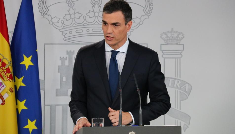 Imatge d'arxiu del president del govern espanyol, Pedro Sánchez.