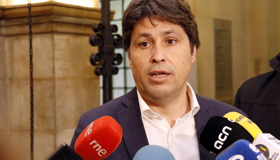 El president de Societat Civil Catalana (SCC), José Rosiñol.