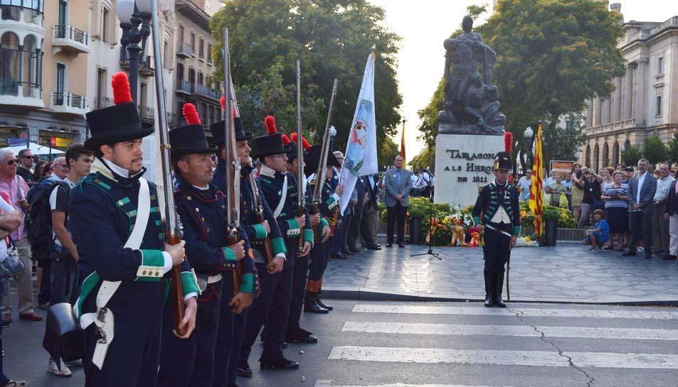 Acte de record i homenatge fa tres anys als defensors de Tarragona durant la Guerra del Francès.