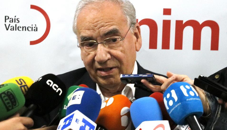 L'exvicepresident del govern espanyol Alfonso Guerra