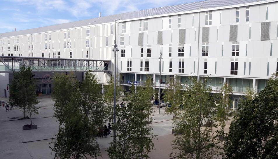 Pla obert del Campus Catalunya de la Universitat Rovira i Virgili a Tarragona.