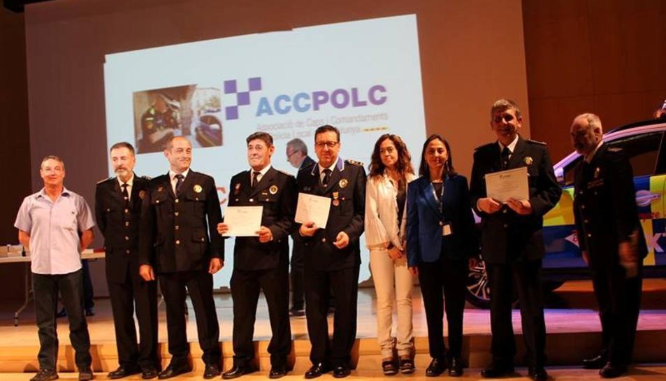 Jordi Jiménez va rebre el premi en l'acte celebrat el 24 de maig a Vic.