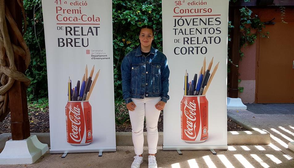La jove estudiant de segon d'ESO s'ha imposat a 1.950 participants de tot Catalunya.