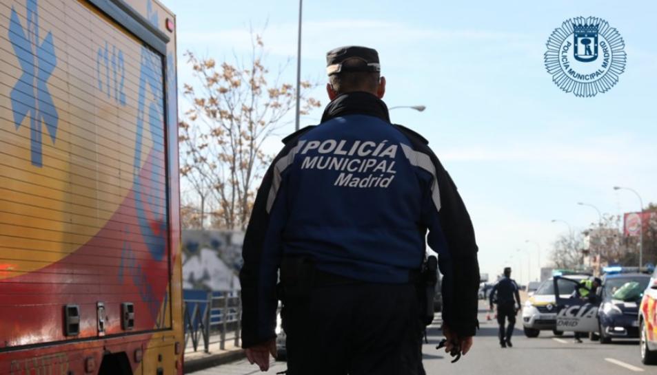 Imatge d'arxiu de la Policia Municipal de Madrid.