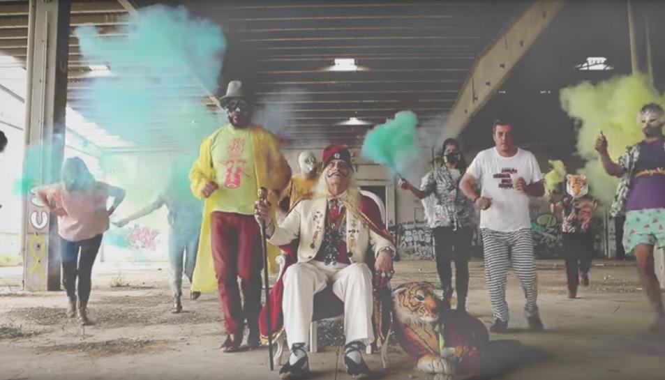 Captura del vídeo promocional de la beguda de la Festa Major de Valls.