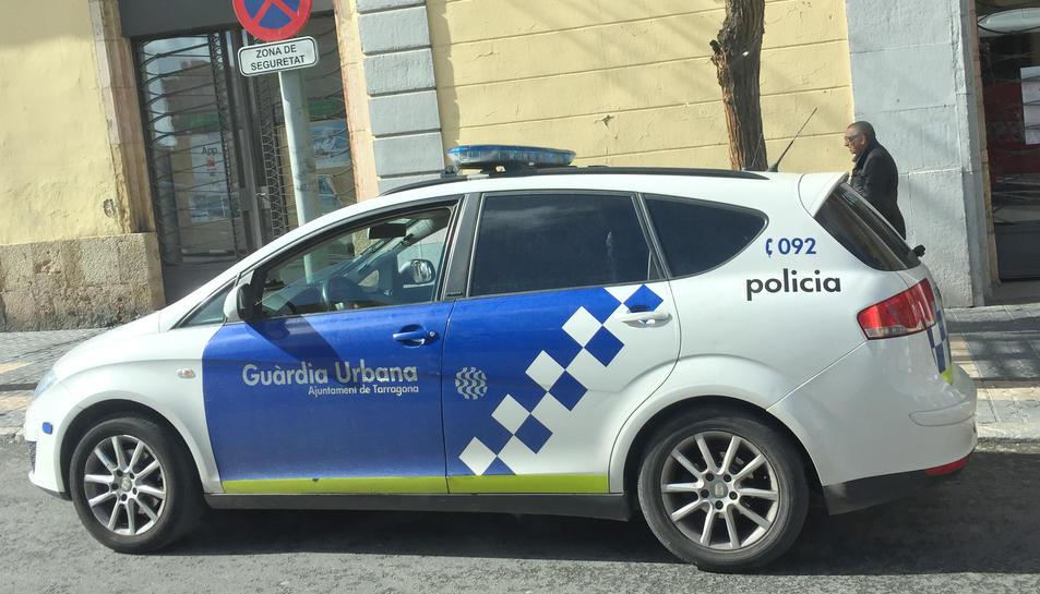Vehicle de la Guàrdia Urbana de Tarragona