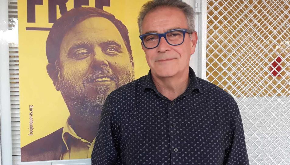 Sandro Boquet, candidat d?ERC a l'alcaldia de Salou.
