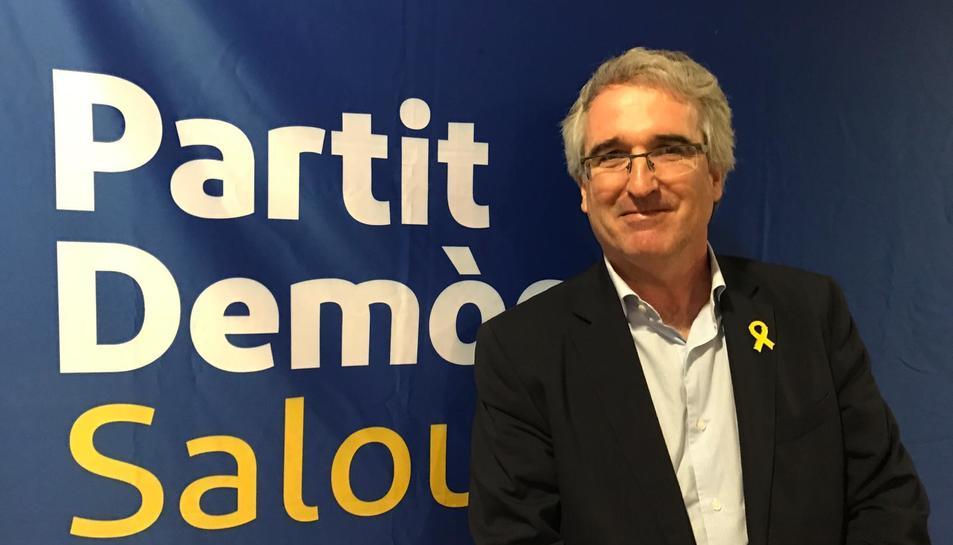 Marc Montagut, després d'haver estat escollit com a cap de llista pel PDeCAT de Salou cara el 2019.