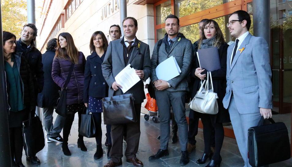 Imatge d'arxiu dels advocats de l'associació han presentat una querella criminal als jutjats de Reus per les càrregues de l'1-O a Mont-roig del Camp.