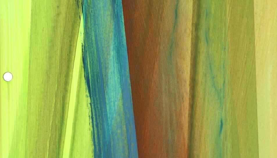 Una de les obres de Cornelia Genschow a l'exposició reusenca.