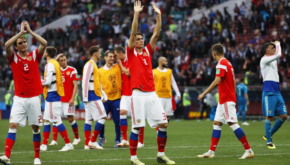 Gran partit de Rússia per començar un Mundial que es presenta trepidant.