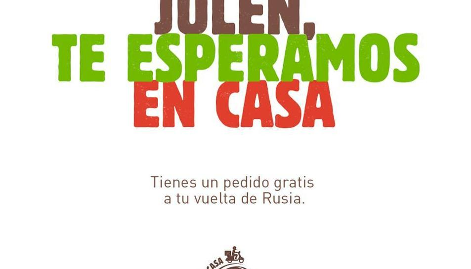 Burger King ha llençat un missatge de consol a Julen Lopetegui en la seva tornada a Espanya.