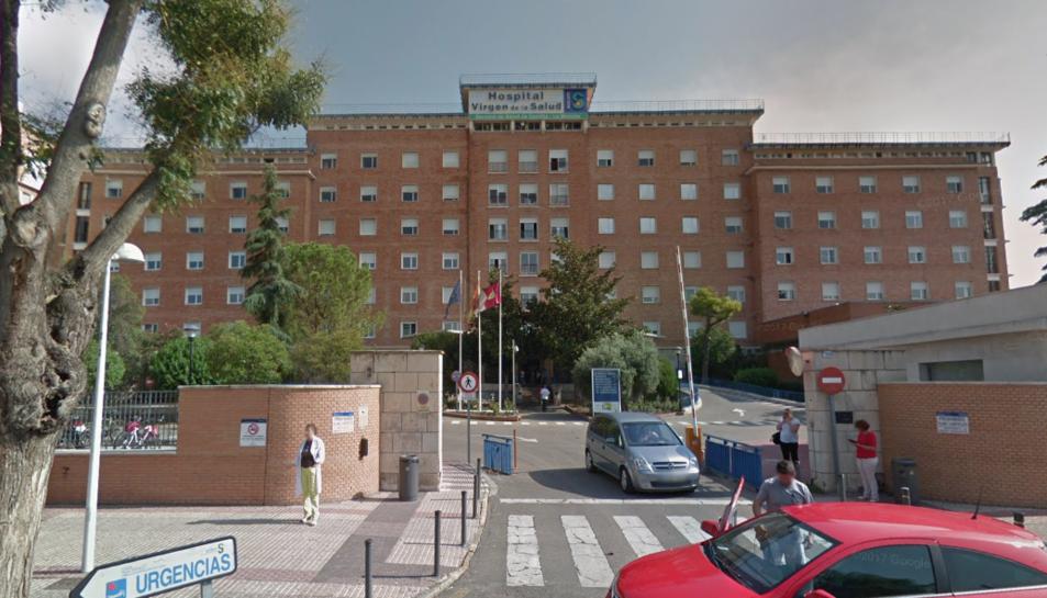 Imatge de la façana de l'Hospital Virgen de la Salud de Toledo.