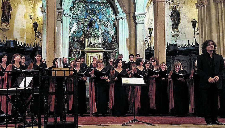 Imatge d'una edició anterior d'aquest concert que es duu a terme després de la primera Tronada.