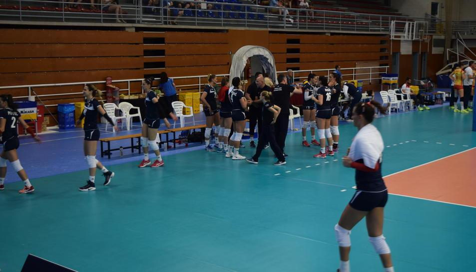 GALERÍA: Espanya-Bòsnia Herzegovina de voleibol (2)
