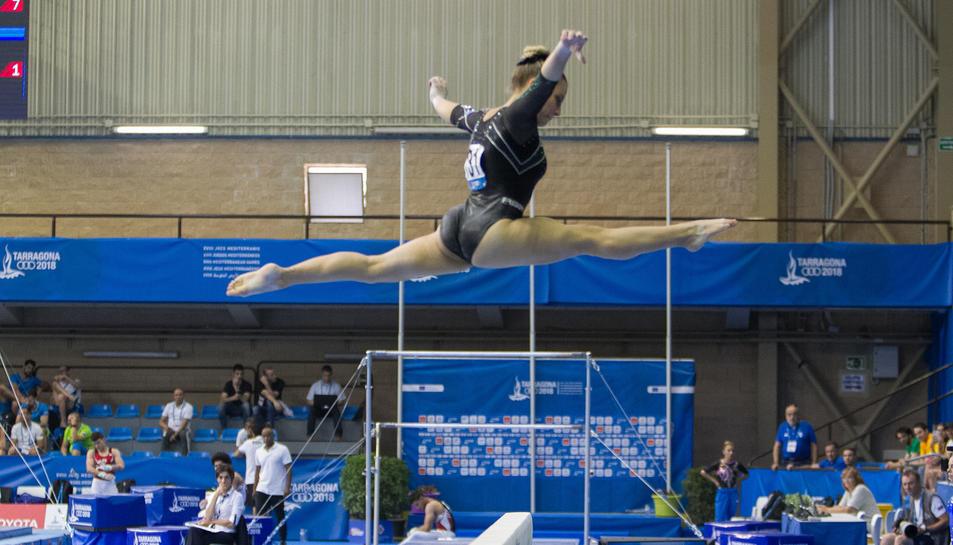 La Gimnàstica Artística es va desenvolupar al Pavelló Olímpic de Reus.