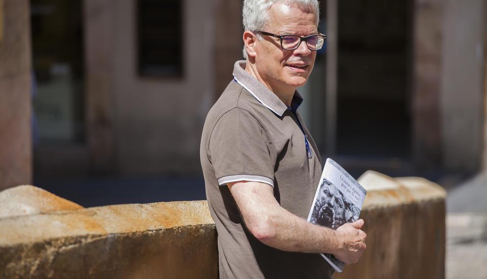 L'escriptor tarragoní Joan Cavallé ha tret nou llibre.