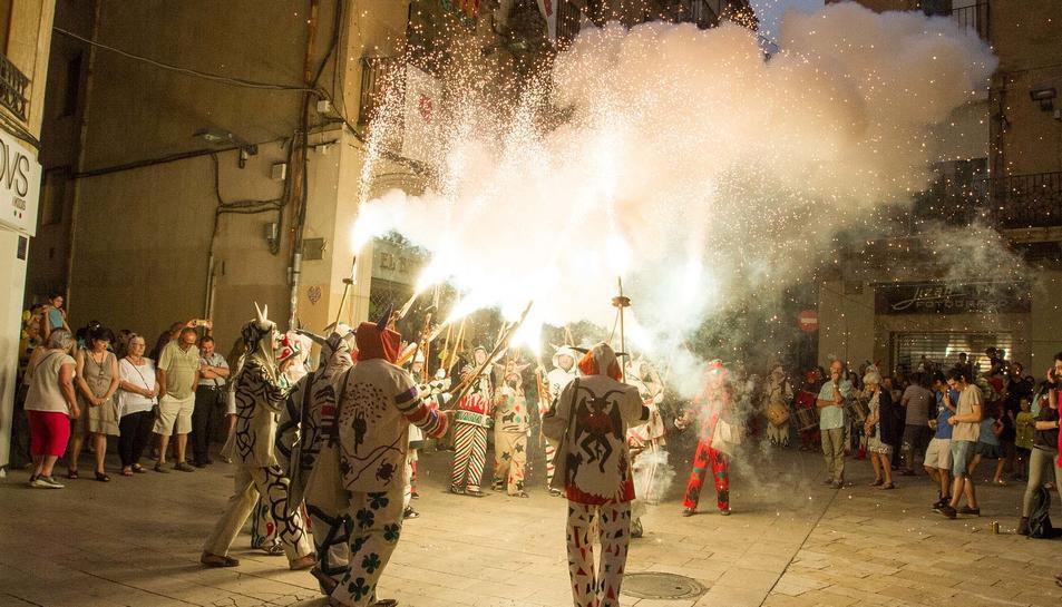 Anada de Completes de la festa major de Sant Pere