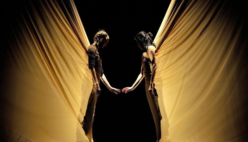 L'espectacle 'Dunas' és una fusió de flamenc i dansa contemporània.