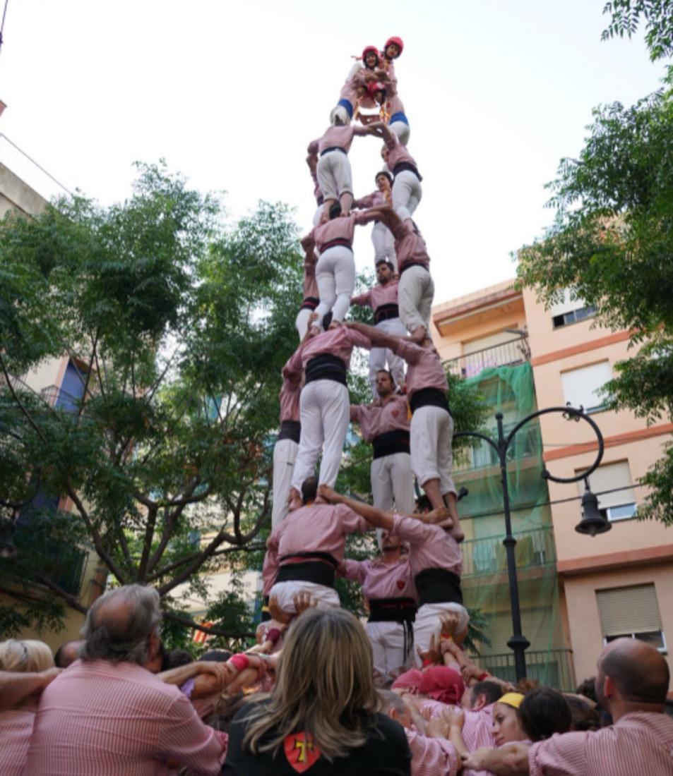 4de8 dels Xiquets de Tarragona a la diada de Sant Pere