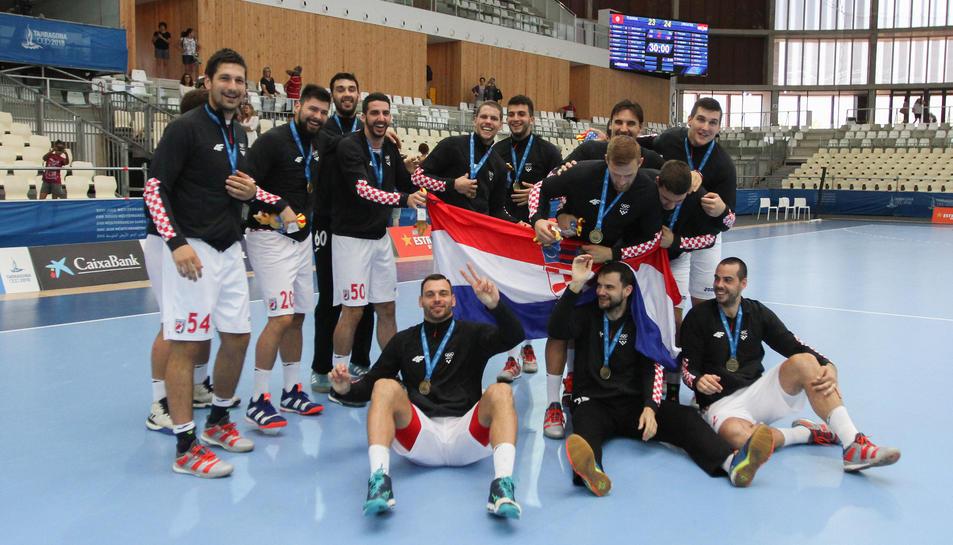 La selecció de Croàcia va derrotar a Tunísia a la final disputada aquest migdia.