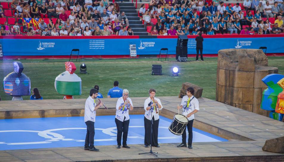 L'acte de clausura dels Jocs Mediterranis (3)