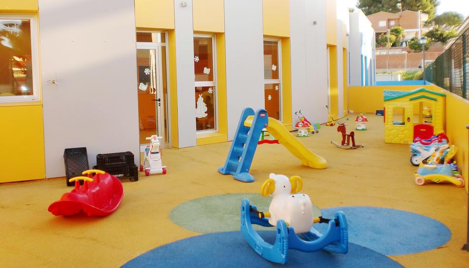 Les quatre llars d'infants ofereixen 283 places, actualment totes ocupades.