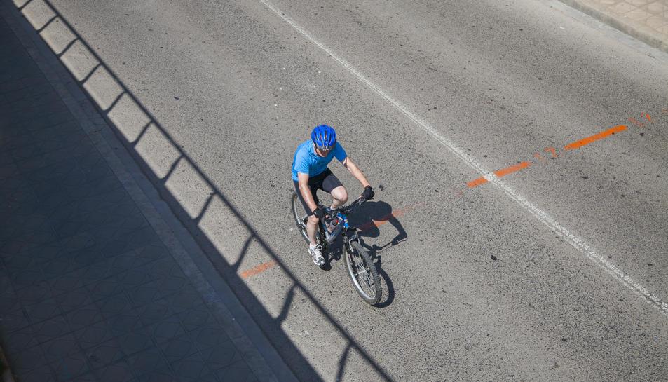 La campanya de Trànsit vol conscienciar els ciclistes.