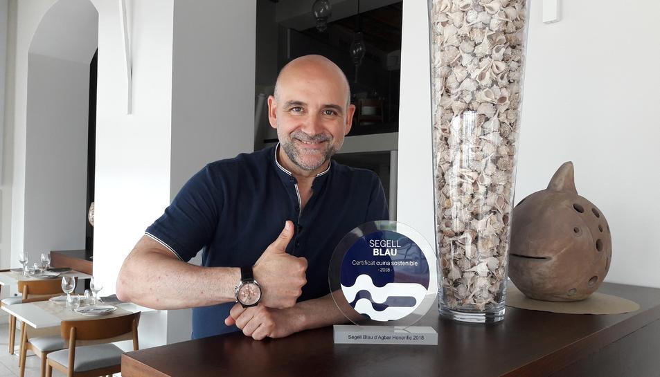 Àngel Pérez, propietari de El P