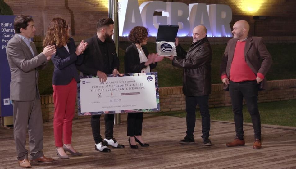El premi s'ha lliurat durant la darrera emissió del programa 'Joc de Cartes' de TV3.