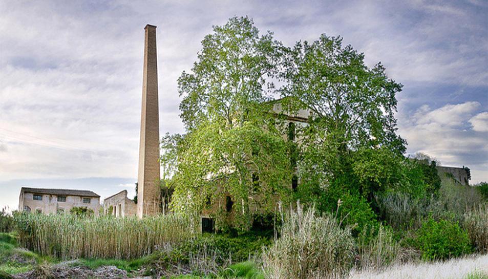 Imatge del comple abandonat on es construiran els habitatges.