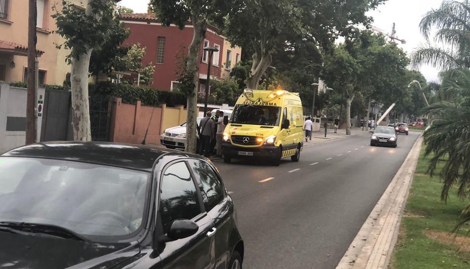 Dos vehicles han xocat a l'avinguda de Salou a Reus.