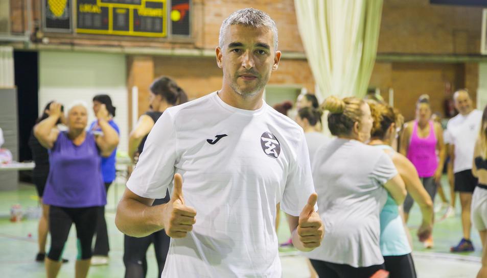 El formador del club Sinhus Paco Fiori.