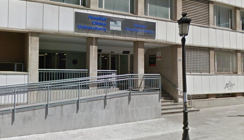 Fonts sanitàries han informat que la defunció de la nena es va produir dimarts passat a l'HospitalClínicode València.