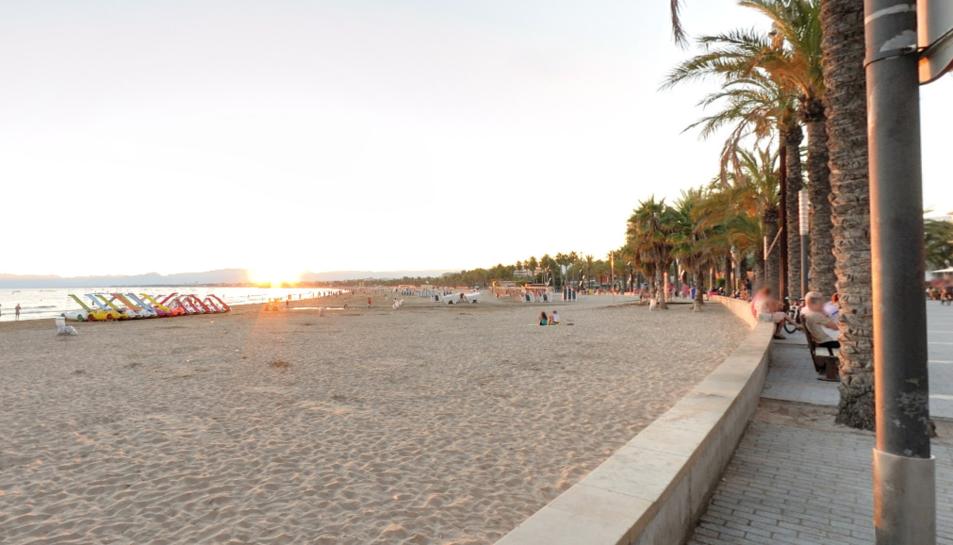 El succés ha passat a la platja de Llevant de Salou, a l'alçada del carrer Bilbao.