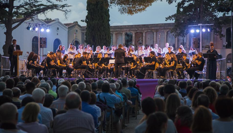 El concert va comptar amb un gran nombre de públic assistent.