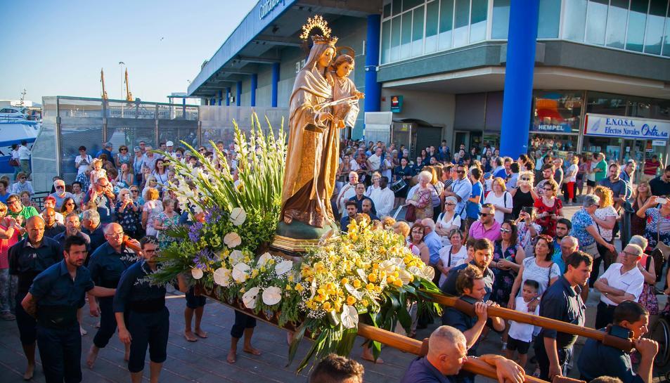 Processó Marítima de la Mare de Déu del Carme del Serrallo.2