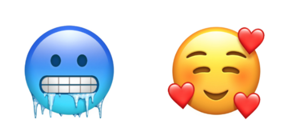 Alguns dels nous dissenys que expressaran noves emocions.