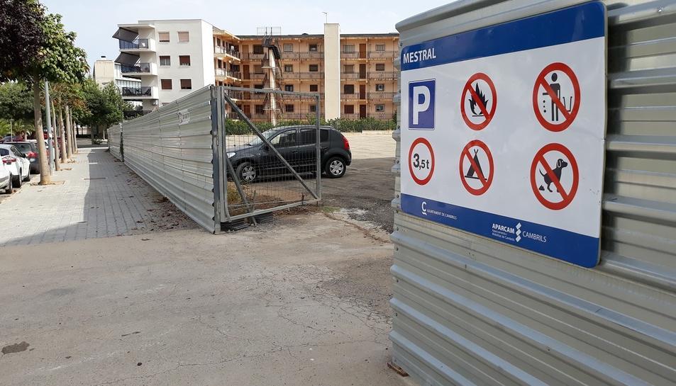Cambrils guanyarà 173 noves places al barri d'Horta de Santa Maria.