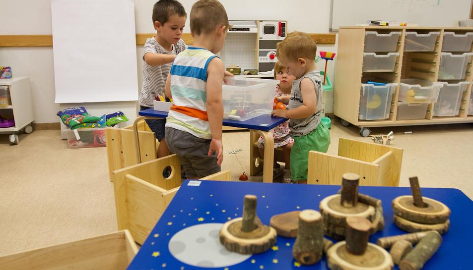Nens de fins a cinc anys poden beneficiar-se de la iniciativa, sempre sota la supervisió dels pares.