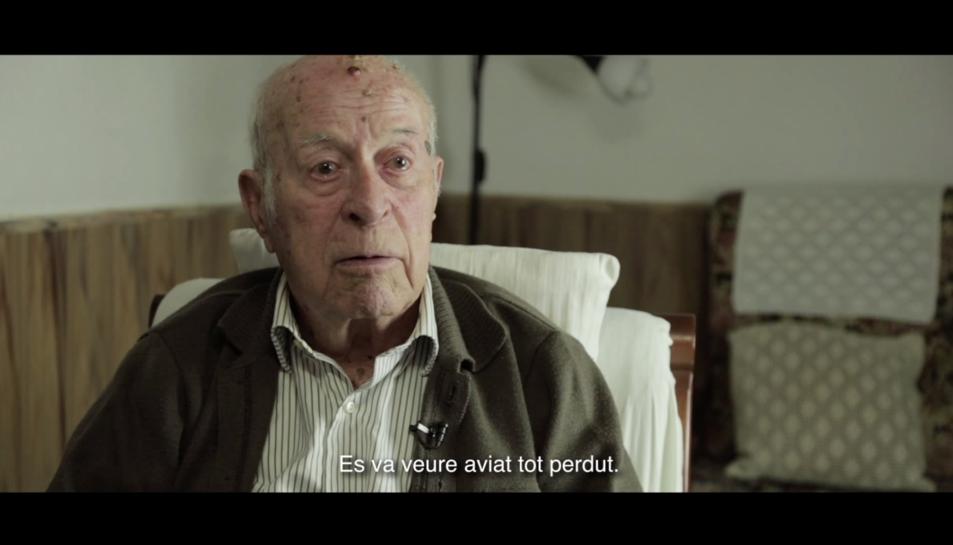 Imatge d'un instant d'un episodi de la sèrie documental.