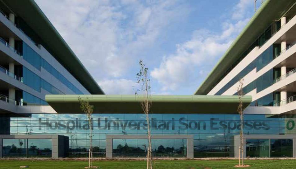 Imatge de l'Hospital Universitari Son Espases de Mallorca.