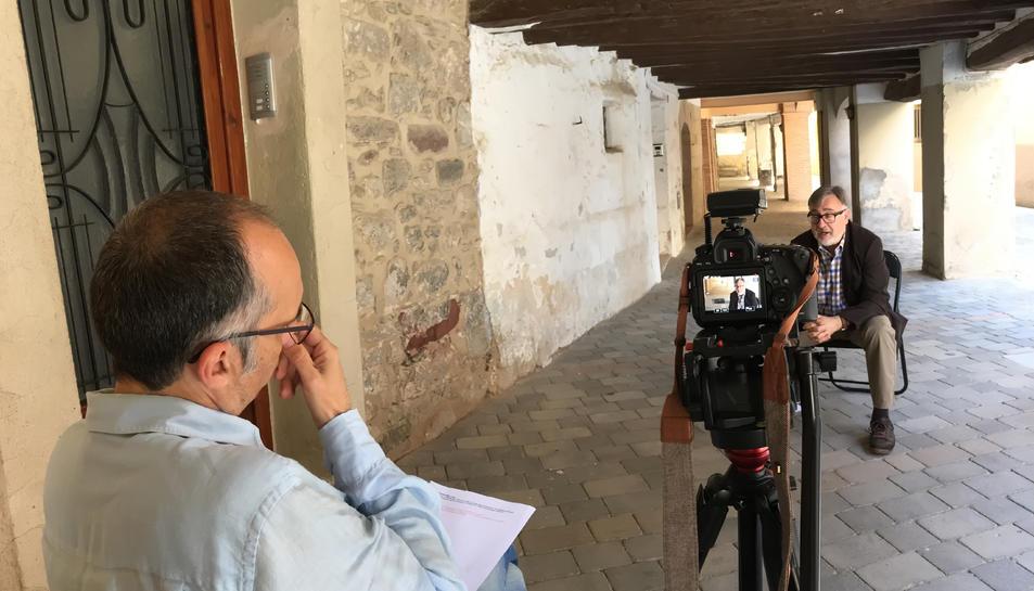 Diversos historiadors i investigadors han participat en aquest projecte audiovisual.