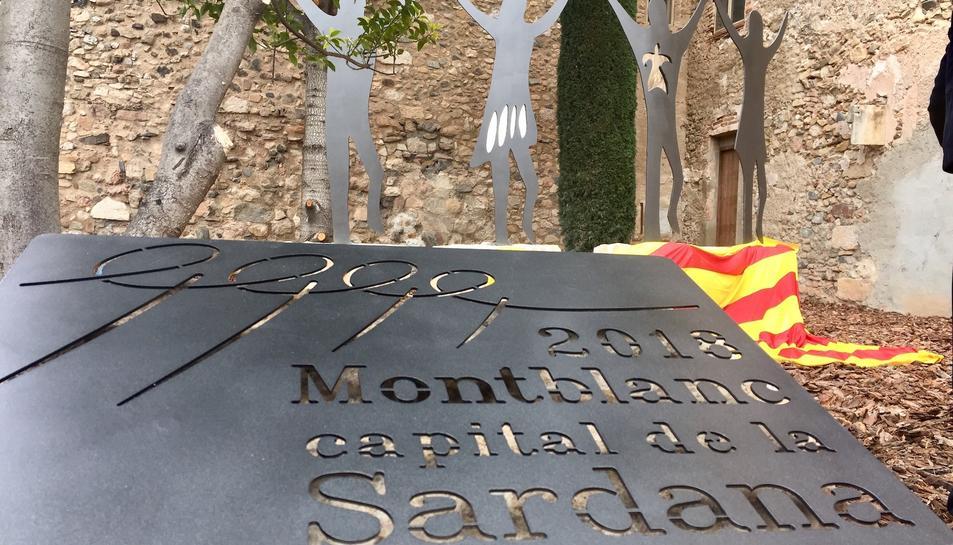 L'acte s'inclou dins la capitalitat de la Sardana de Montblanc