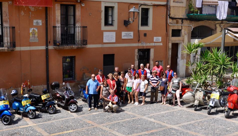 La celebració va comptar amb membres del club i l'únic fundador viu.