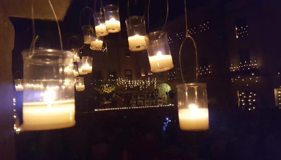 Concert de les Espelmes de la Festa Major de Riudecanyes.
