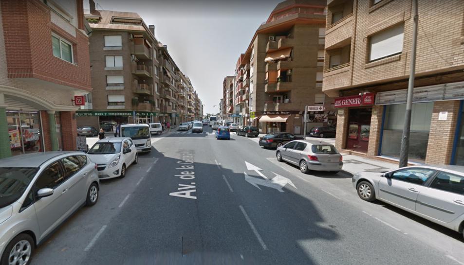 L'avinguda de la Generalitat de Tortosa.