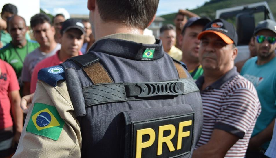 Imatge d'arxiu d'un agent de policia de Brasil.