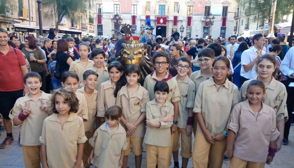 Els portadors del Lleonet de Tarragona.